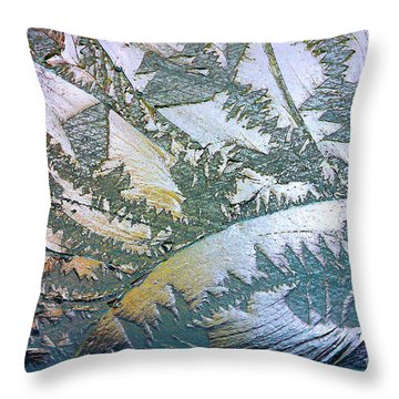 Glass Designs Throw Pillow