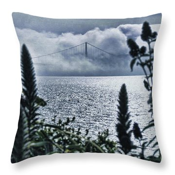 Throw Pillow featuring the photograph Golden Gate Bridge - 1 by Mark Madere