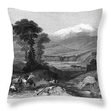 Greece: Mount Olympus Throw Pillow by Granger