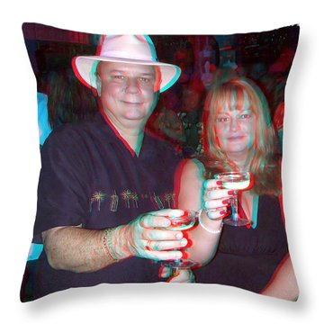 Happy New Year Throw Pillow by Brian Wallace