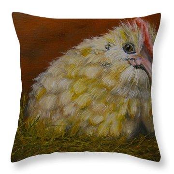 Hector Throw Pillow by Marlyn Boyd