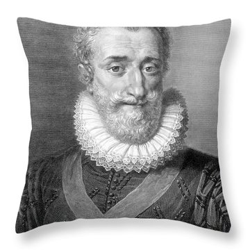 Henry Iv (1553-1610) Throw Pillow by Granger