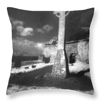 High Cross Throw Pillow by Simon Marsden