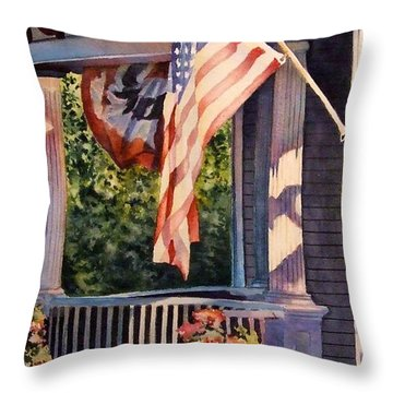 Hot August Night Throw Pillow