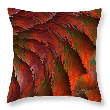 Imagination Throw Pillow by Christopher Gaston