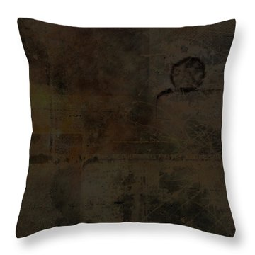 Industrial Throw Pillow by Christopher Gaston