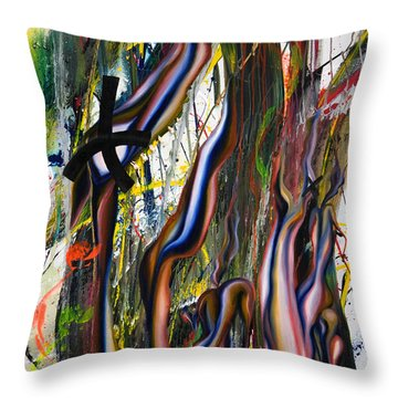 Innocent Bones Throw Pillow