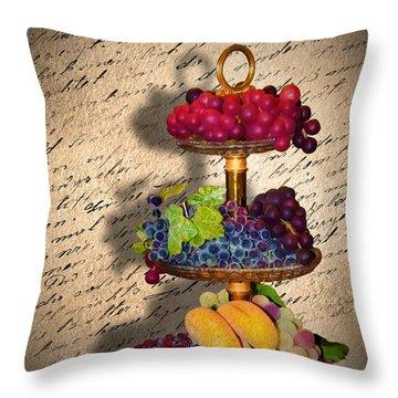 Invitation Throw Pillow by Svetlana Sewell