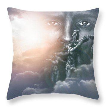 Isaiah's Vision Throw Pillow by Bill Stephens