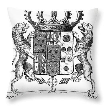 Italian Coat Of Arms Throw Pillow