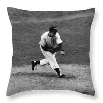 Joe Page (1917-1980) Throw Pillow