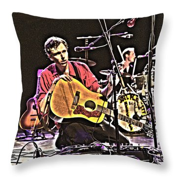 Joel Plaskett Throw Pillow