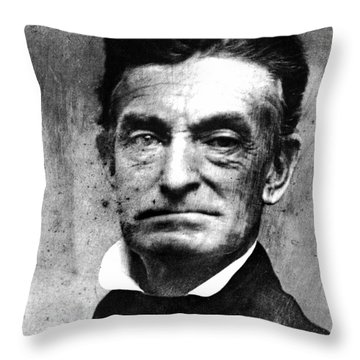 John Brown (1800-1859) Throw Pillow by Granger