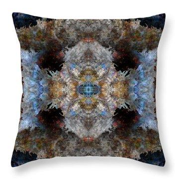 Kaleidoscope Throw Pillow by Christopher Gaston