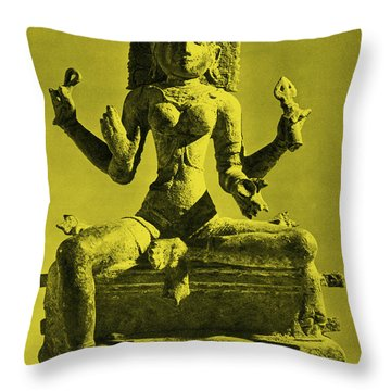 Kali Throw Pillow by Photo Researchers