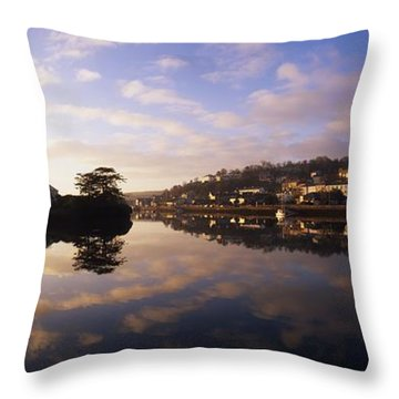 Kinsale Harbour, Co Cork, Ireland Throw Pillow by The Irish Image Collection