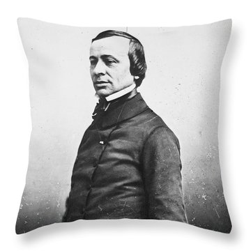 Laboulaye (1811-1883) Throw Pillow by Granger