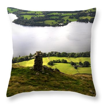 Lake District  Throw Pillow