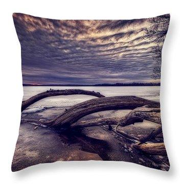 Lake Neatahwanta Throw Pillow by Everet Regal