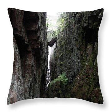 Lake Superior At Lake Superior Throw Pillow by Ted Kinsman