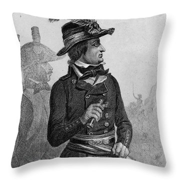 Lazare Carnot (1753-1823) Throw Pillow by Granger