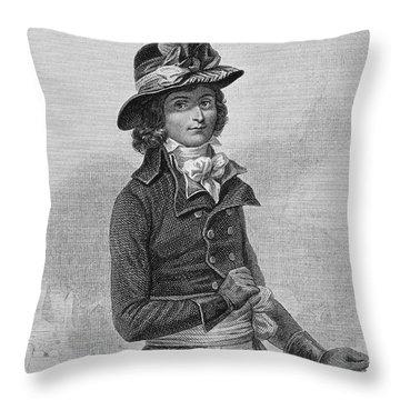 Louis Saint-just (1767-1794) Throw Pillow by Granger