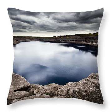 Marmora Mine Throw Pillow by Cale Best