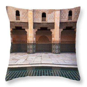 Marrakesh, Morocco Throw Pillow by Axiom Photographic