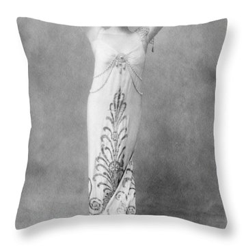 Mary Garden (1874-1967) Throw Pillow by Granger