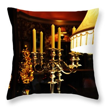 Throw Pillow featuring the photograph Mirror by Tanya  Searcy