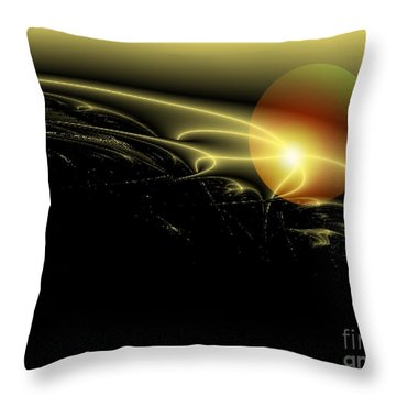 A Star Was Born, From Serie Mystica Throw Pillow