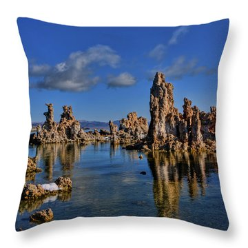 Mono Lake Throw Pillow