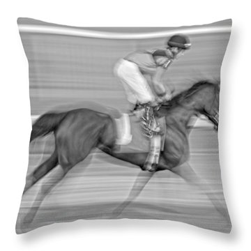 Motion  Throw Pillow by Betsy Knapp