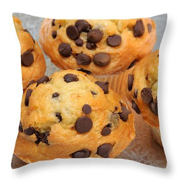 Muffin Tops 1 Throw Pillow by Andee Design