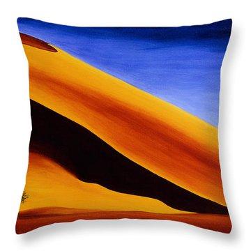 Namibia 2 Throw Pillow