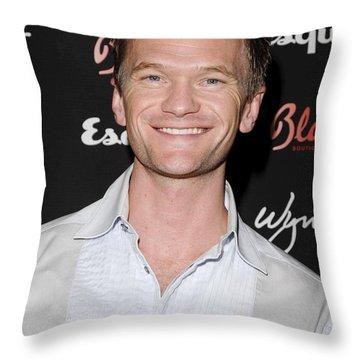 Neil Patrick Harris Throw Pillows