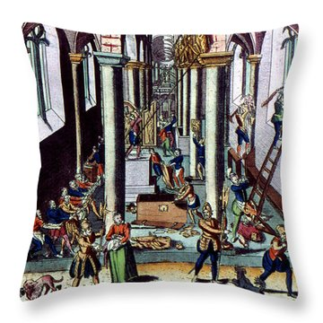 Netherlands: Calvinism Throw Pillow by Granger