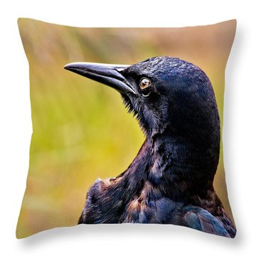 On Alert Throw Pillow by Christopher Holmes