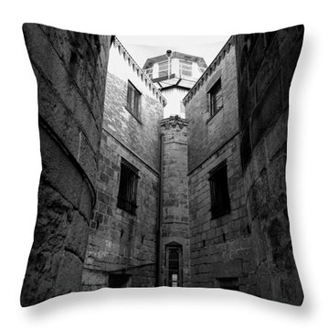 Oppression Throw Pillow by Richard Reeve