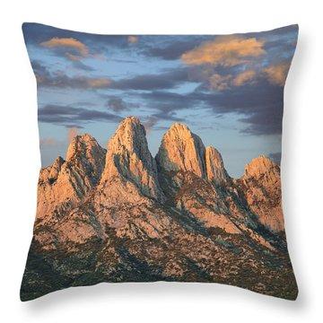 Organ Mountains Near Las Cruces New Throw Pillow