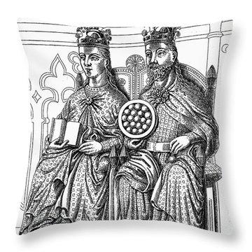 Otto I (912-973) Throw Pillow by Granger