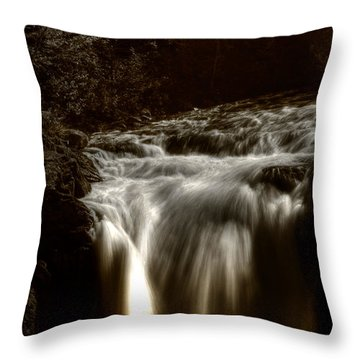 Over The Top Throw Pillow by Greg DeBeck