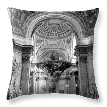 Pantheon Throw Pillow by Sebastian Musial