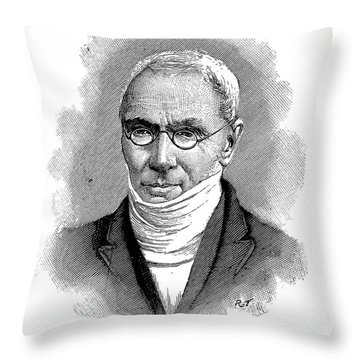 Patrick Bront� (1777-1861) Throw Pillow by Granger