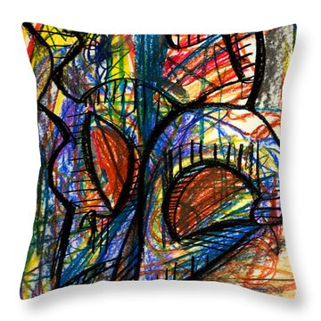 Picasso Throw Pillow by Sheridan Furrer