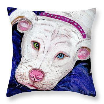 Pillow Talk Throw Pillow
