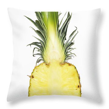Pineapple Ananas Comosus Throw Pillow