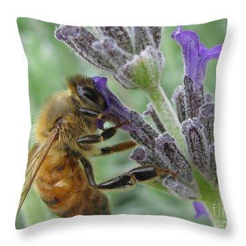 Pollen Catcher Throw Pillow