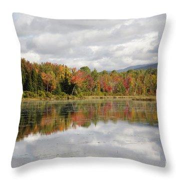 Pondicherry Wildlife Refuge - Jefferson New Hampshire Throw Pillow by Erin Paul Donovan