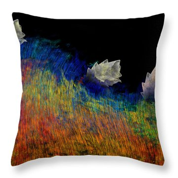 Pure Throw Pillow by Christopher Gaston